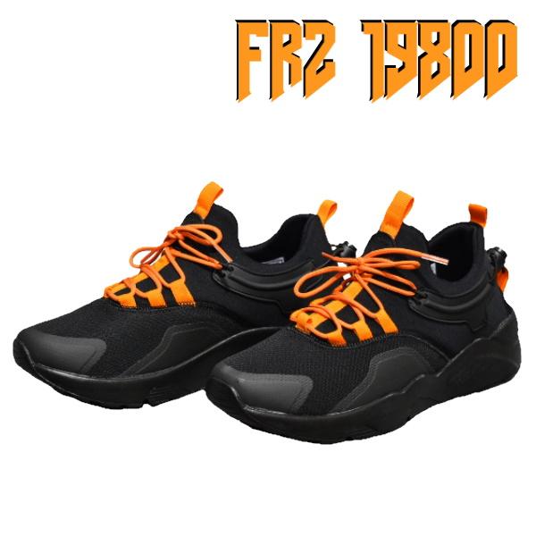 FRZ Black & Orange férfi cipő