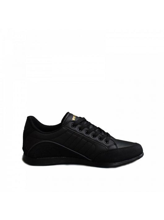MCkop 2008 Black Leather férfi cipő