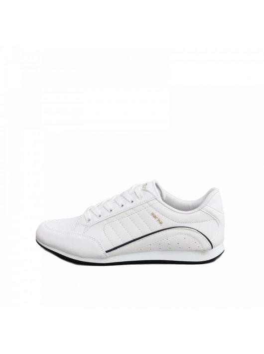 MCkop 2008 White Leather férfi cipő