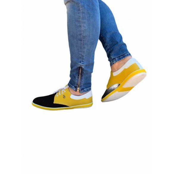 MCkop 304 Yellow&men's black shoes