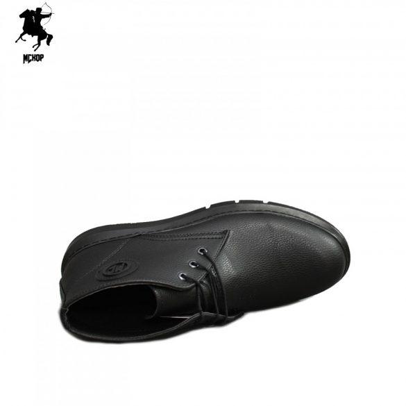 MCkop 652 01 Black férfi bakancs