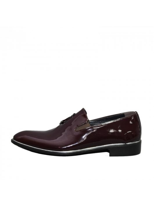 N560 lakk férfi cipő