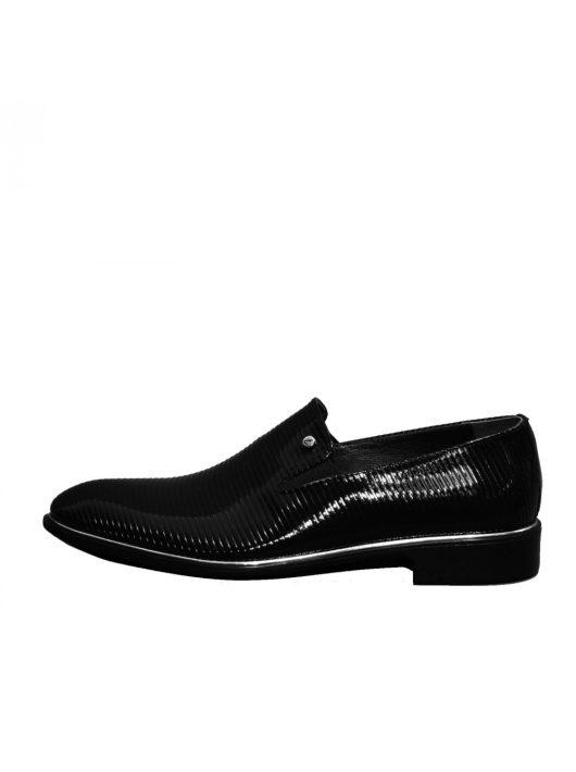 N564 lakk fekete férfi cipő   MCkop.hu