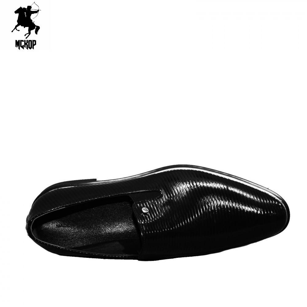 N564 lakk fekete férfi cipő