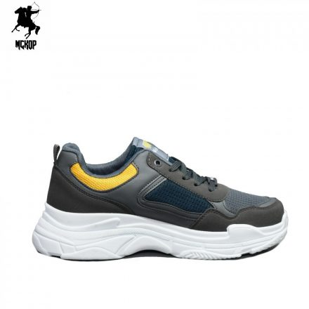 WK 2244 Green&Yellow férfi cipő
