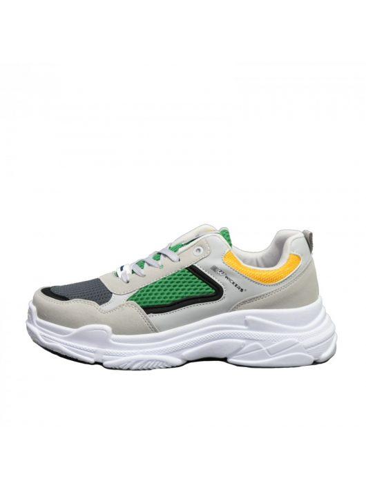 WK 2244 Gray&Green férfi cipő